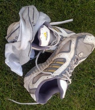 Meine alten Laufschuhe