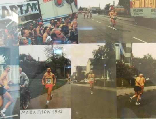 Mein letzter Marathonlauf, 1992