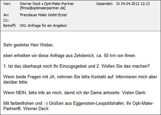 Preisanfrage Archives Malerdeck Ihr Opti Maler Partner Aus