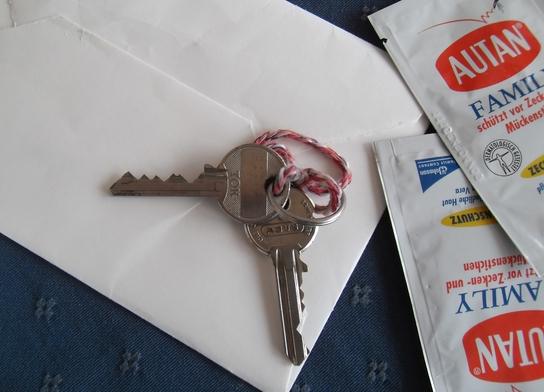 Schlüssel Urlaub Renovierung