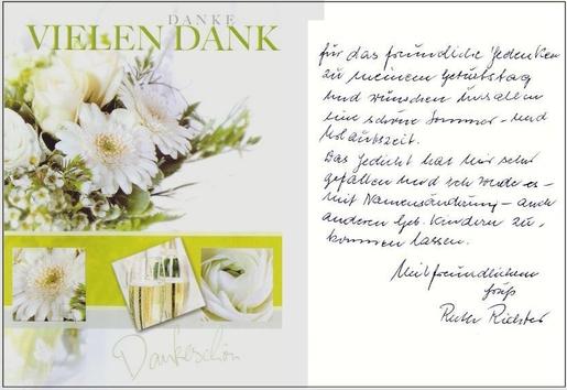 Geburtstagswunsche Dankeschon Triciahallekathy Official