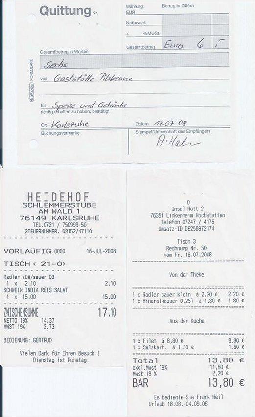 Netto Rechnungssumme U20ac 3924.96. Essenkosten U20ac 282,00. Die Essenkosten  Betragen Somit Netto 6,04%. Das Restaurant War Auch ...