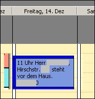 Outlook Kalendereintrag Terminvereinbarung