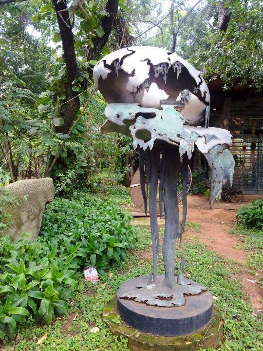 Ausdrucksstarke Skulpturen