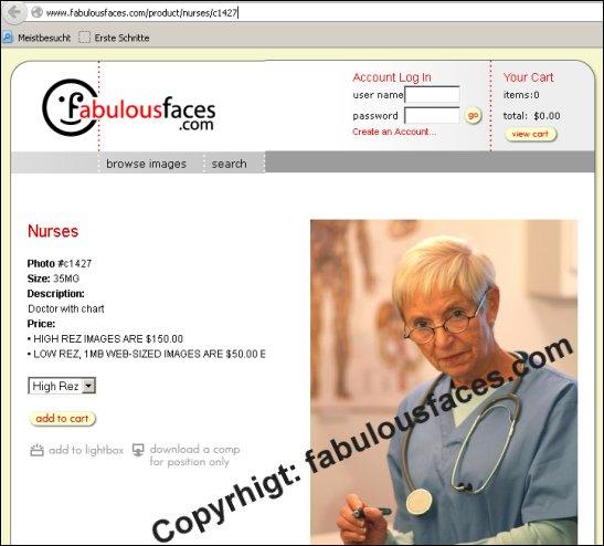 Die angebliche Dr. med. Ursula Schmidt, herunterzuladen bei fabulousfaces.com