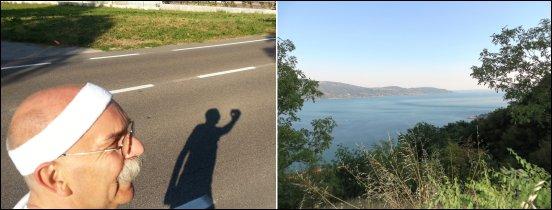 Obligatorischer Morgenlauf und Abschied vom Gardasee