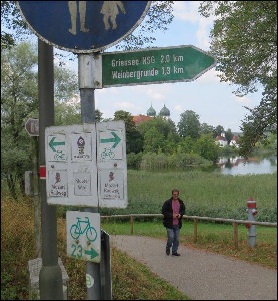 Unter anderem, wollen wir an den Giessee fahren, aber