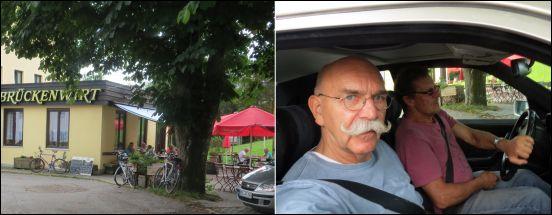 Nach einem stärkenden bayrischen Mahl, traten wir am Nachmittag die 350 km-Heimfahrt an