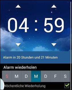 Um 4:59 Uhr klingelt mein Wecker