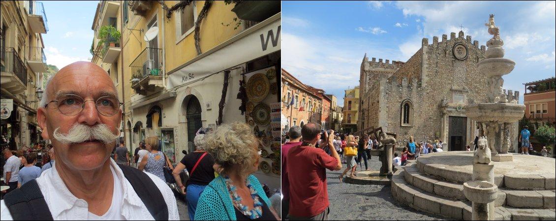 Ausflug nach Taormina unsd bummeln auf der  Corso Umberto