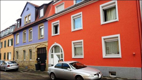 Farbenfrohe Fassaden