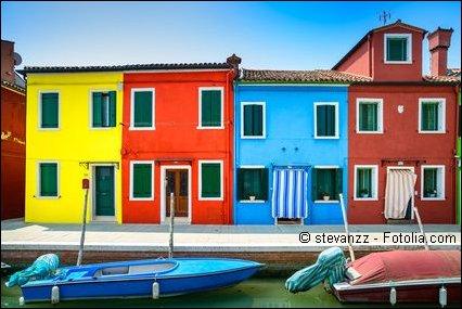 Burano in Venedig
