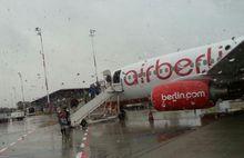 Windig und regnerisch in Berlin