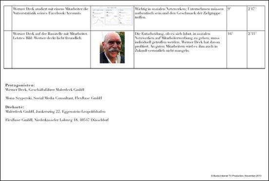 Drehbuch für DATEV magazin.tv, Seite 3