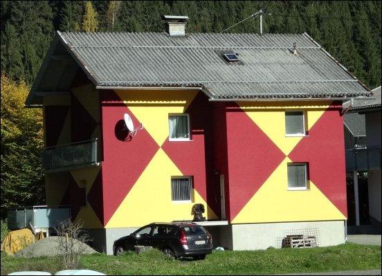 Fassadengestaltung aus Österreich
