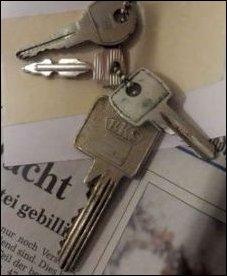 Briefkastenschlüssel fehlt